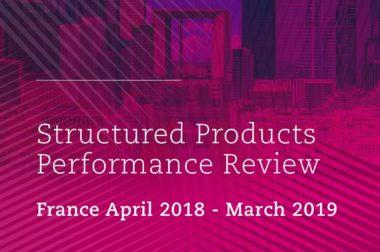 Rapport SRP 2019 sur les performances des produits structurés